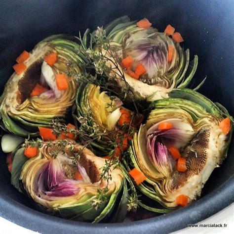 recette cuisine d été artichauts à la barigoule recette facile marciatack