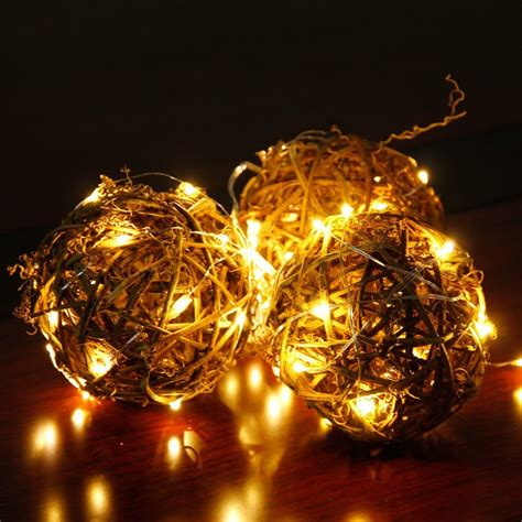 led starry string lights with 20 micro leds 1mtr length