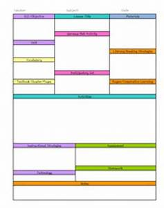 cooperative learning lesson plan template - detailed activity lesson planning template free by happy