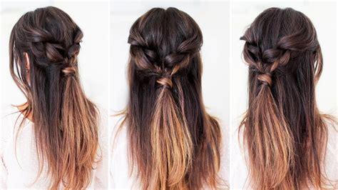 easy everyday hairstyle luxy hair youtube