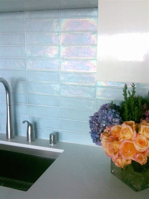 kitchen update add  glass tile backsplash hgtv
