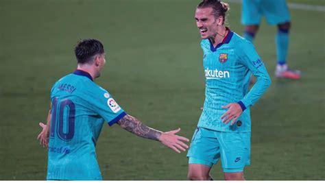Barca keep title hopes alive after win over Villarreal ...