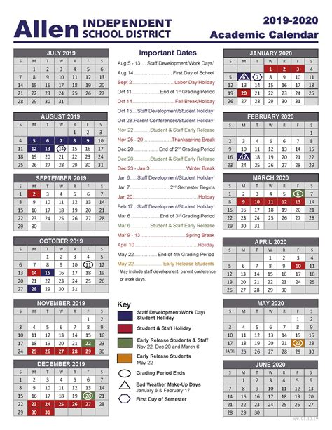 academic school year calendar academic school calendar