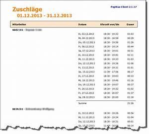 Nachtzulage Berechnen : zuschl ge nach uhrzeit maxpro handbuch ~ Themetempest.com Abrechnung