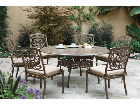 Darlee Patio Furniture Quality by Darlee Outdoor Living Series 60 Cast Aluminum 59