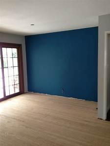 Blue Accent Wall Home Decor Waplag Interior Ideas Rich