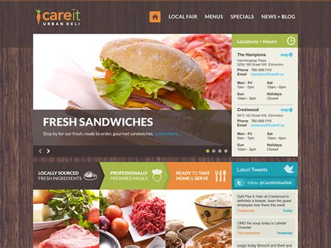 cuisine site 22 excellent restaurant web designs