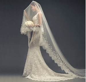 2015 wedding dress bridal veil wedding accessories long With long veil wedding dresses