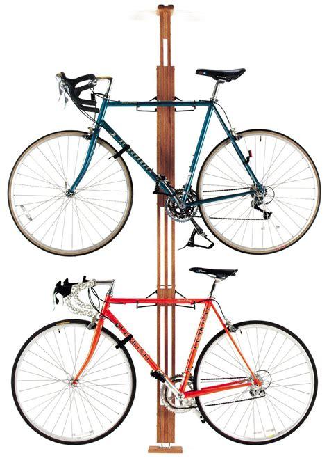 ceiling bike rack gear up oakrack floor to ceiling bicycle rack