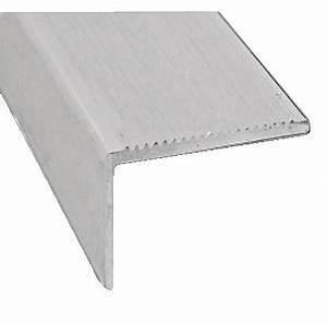 Nez De Marche Carrelage Brico Depot : nez de marche en aluminium brut l 2 m 45x23 mm brico d p t ~ Dailycaller-alerts.com Idées de Décoration