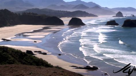 ecola state park cannon beach oregon youtube youtube