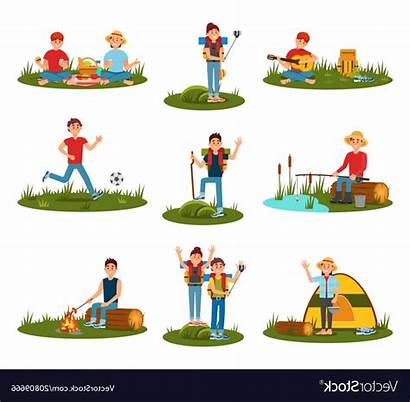 Activities Clipart Recreation Playing Kid Svg Football