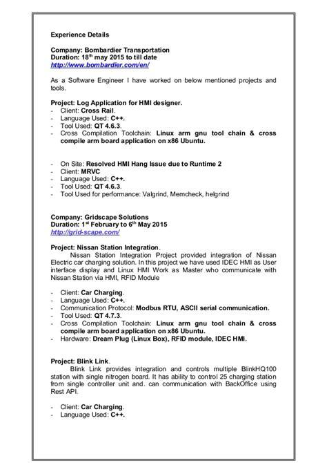 Resume Creator Ubuntu by Dipak Desai Resume