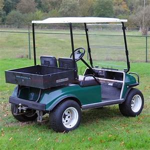 Golf Cart Club Car Carryall For 2 Persons Electrical Used