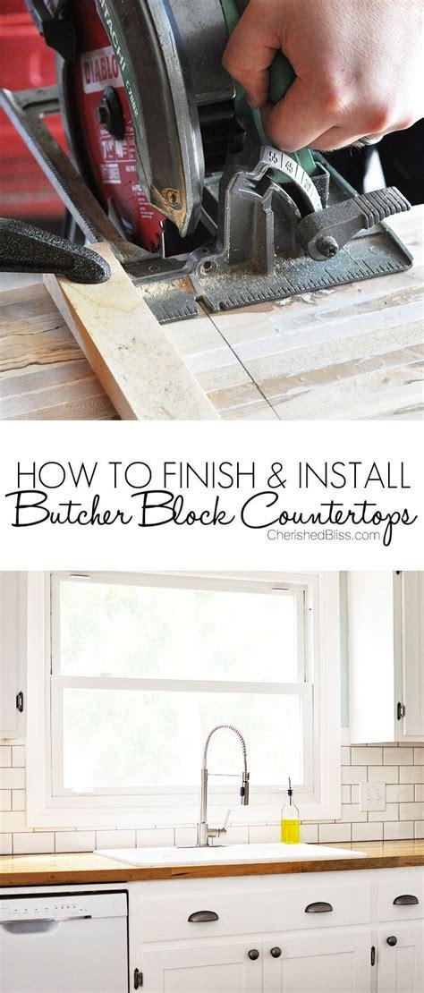 finishing butcher block countertops how to finish and install butcher block countertop