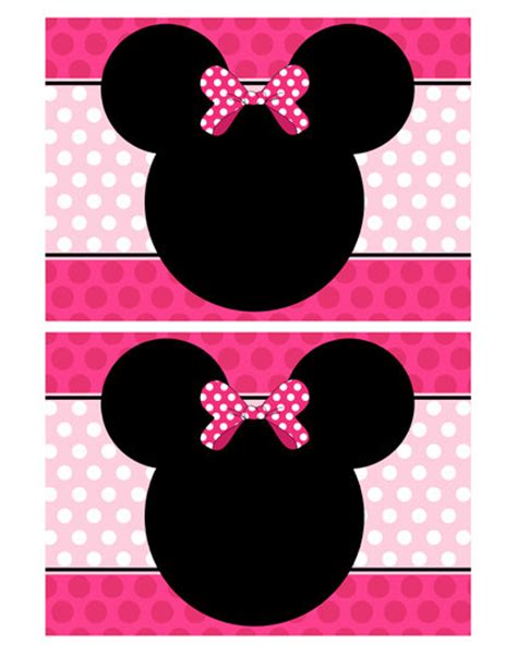 Minnie Mouse Template Invitation by Minnie Mouse Invitation Template Cyberuse