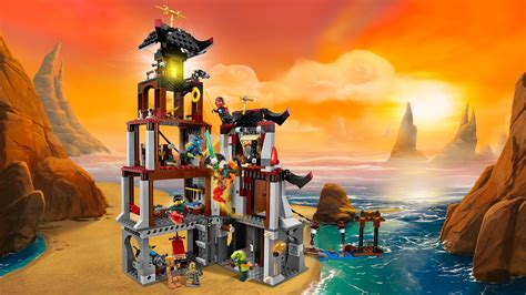 amazon siege amazon com lego ninjago the lighthouse siege 70594