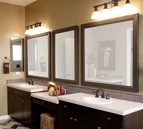 Custom Framed Mirrors For Bathrooms by 15 Inspirations Of Custom Framed Mirrors