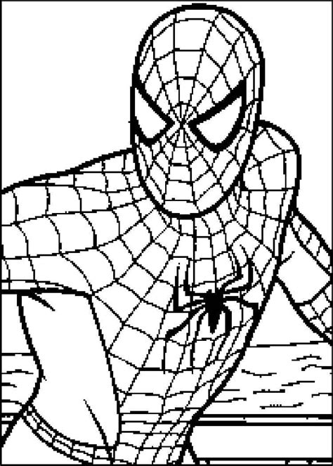 spiderman coloring pages  coloring pages printable  kids  adults