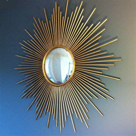 Golden Mirrored Wall Decor : Home Decorations   Features
