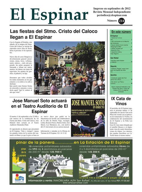 Periodico El Espinar nº214 by juanmaria garcia issuu
