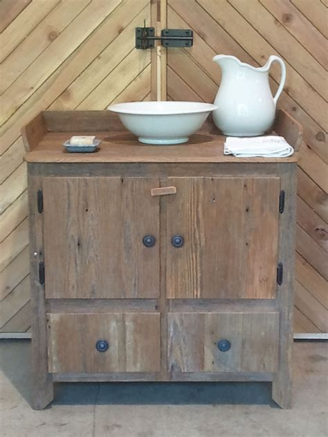 custom dry sink by big barn woodworks custommadecom