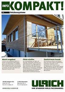 Holz Ulrich Stuttgart : infokompakt 91 holzbausysteme by kaiser design issuu ~ Markanthonyermac.com Haus und Dekorationen