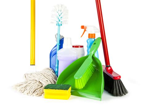 cleaning supplies clipart best