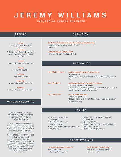 curated cv template for designer material design customize 192 corporate resume templates online canva
