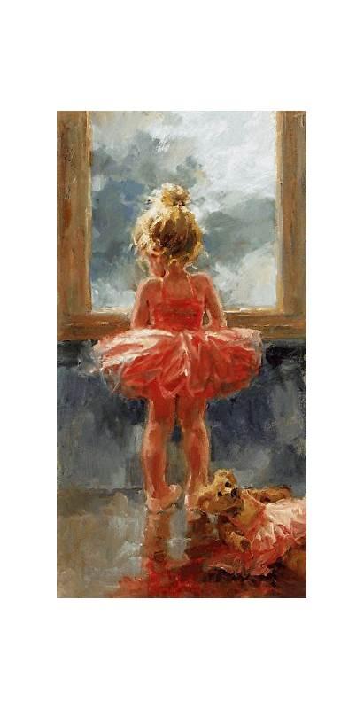 Dance Painting Corinne Ballerina Hartley Dancing Wait