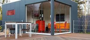 Gartenhaus Mit Glasfront : gardomo design gartenh user ~ Markanthonyermac.com Haus und Dekorationen