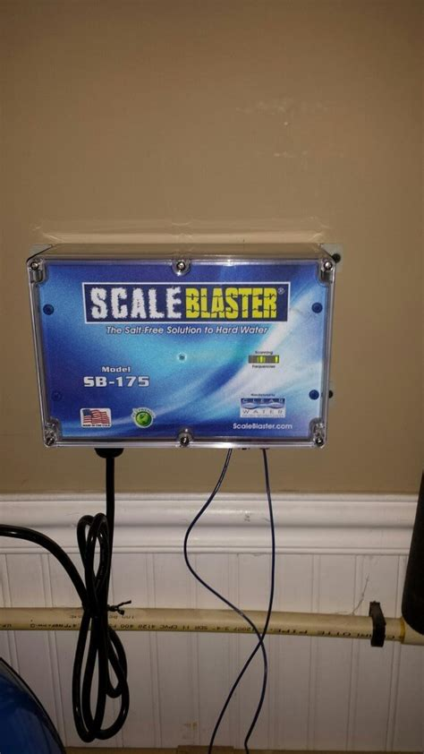 cost effective hard water treatment solution scale blaster