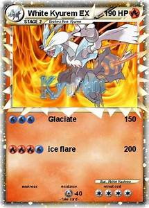 Pokémon White Kyurem EX 18 18 - Glaciate - My Pokemon Card