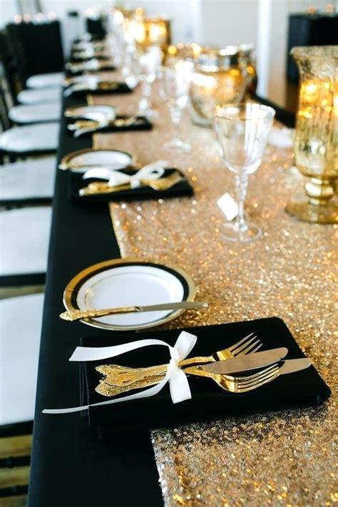 black and gold decor birthday decorations white ideas jameso