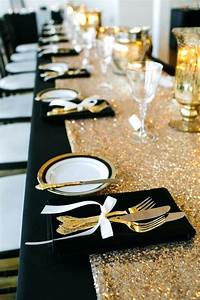 Black And Gold Decor Birthday Decorations White Ideas – Jameso