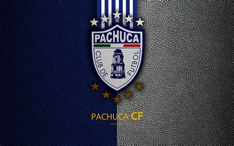 Download wallpapers CF Pachuca, 4k, leather texture, logo ...