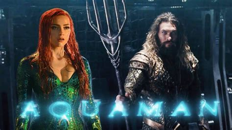 Aquaman Movie 2018 Teaser Trailer  Jason Momoa, Amber