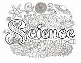 Science Dawn Tools Brain Education Coloring Worksheets Notebook Physical Sheets Eye Adults Journal Kindergarten Experiments sketch template