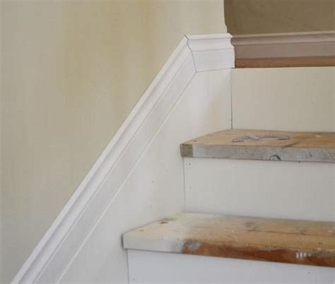 add moldings  stairs   diy lesson  ana