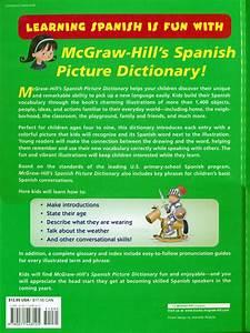 McGraw-Hill's Spanish Picture Dictionary, Spanish: Teacher ...