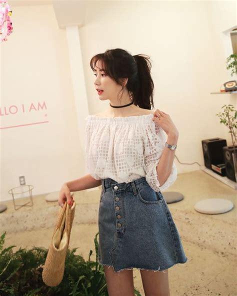 Best 25+ Korean fashion summer ideas on Pinterest | Korean casual outfits Korean spring fashion ...