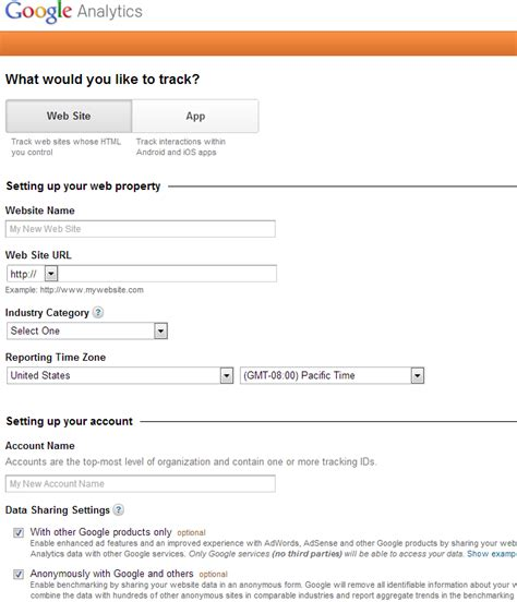 google forms sign up adding google analytics to your blog