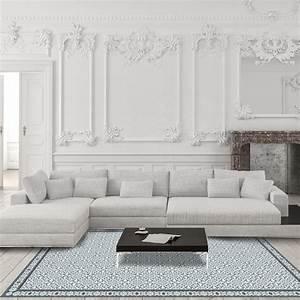 Tapis Vinyl Carreaux De Ciment : tapis vinyle carreaux de ciment bertille ~ Melissatoandfro.com Idées de Décoration