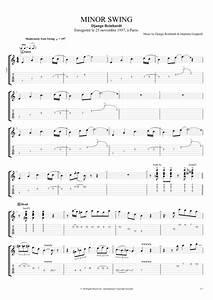 Guitar Chords Chart With Fingers Minor Swing By Django Reinhardt Full Score Guitar Pro