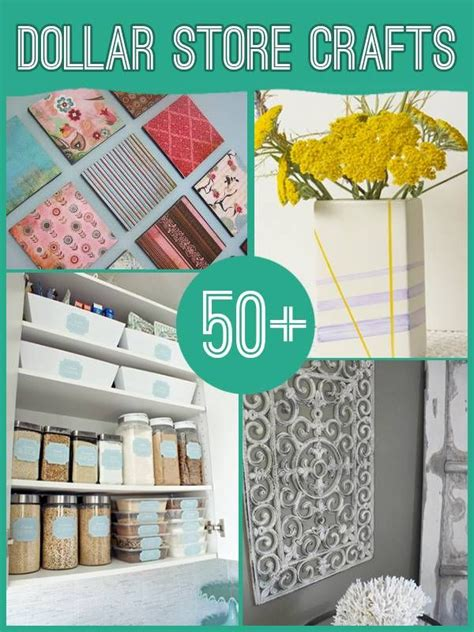 60 Projects To Make With Dollar Store Supplies  Diy