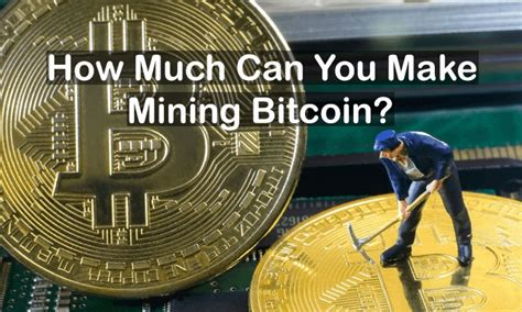How do i make money from bitcoin? well, that is exactly why i have decided to write this post on the best ways to earn money with bitcoins; How Much Can You Make Mining Bitcoin? (Dec. 2020)