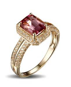 ruby engagement ring luxurious 1 50 carat ruby and halo engagement ring in yellow gold jeenjewels