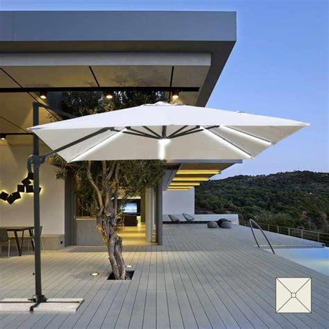 cantilever xm garden parasol  integrated solar led