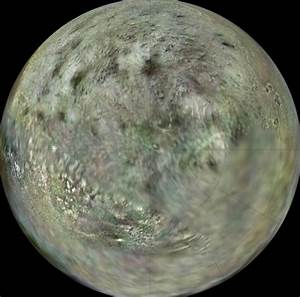 Pluto Spacecraft Planning? New Map Of Neptune's Icy Triton ...