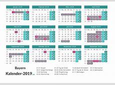 FERIEN Bayern 2019 Ferienkalender & Übersicht